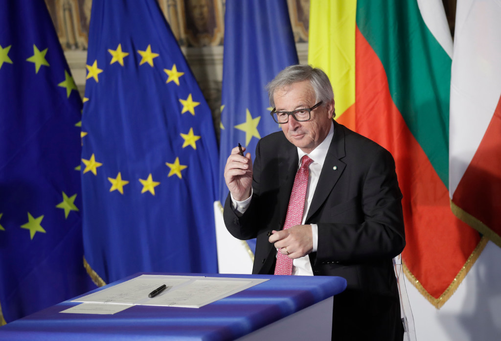 European Commission President Jean-Claude Juncker hit back at Donald Trump's  support for the U. K.'s withdrawal from the European Union, saying that he  ...