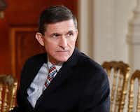 Former national security adviser Michael Flynn resigned less than a month into the Trump administration after reports that he'd misled senior administration officials about the nature of his conversations with the Russian ambassador before President Donald Trump took office. (AP Photo/Carolyn Kaster, File)
