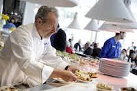 Chef Julian Serrano served guests an Italian brunch at Vegas Uncork'd by Bon Appetit in 2015.(Isaac Brekken)