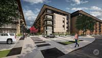 Wood Partners will build the 324-unit apartment community on Singleton Boulevard.(Stonelake Capital Partners)
