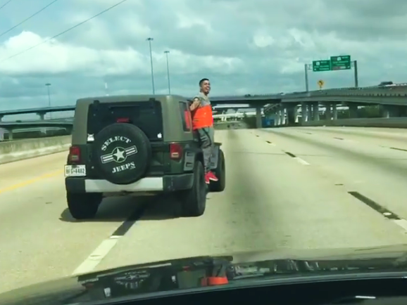 Houston Prank Team Strikes Again With Man Duct Taped To