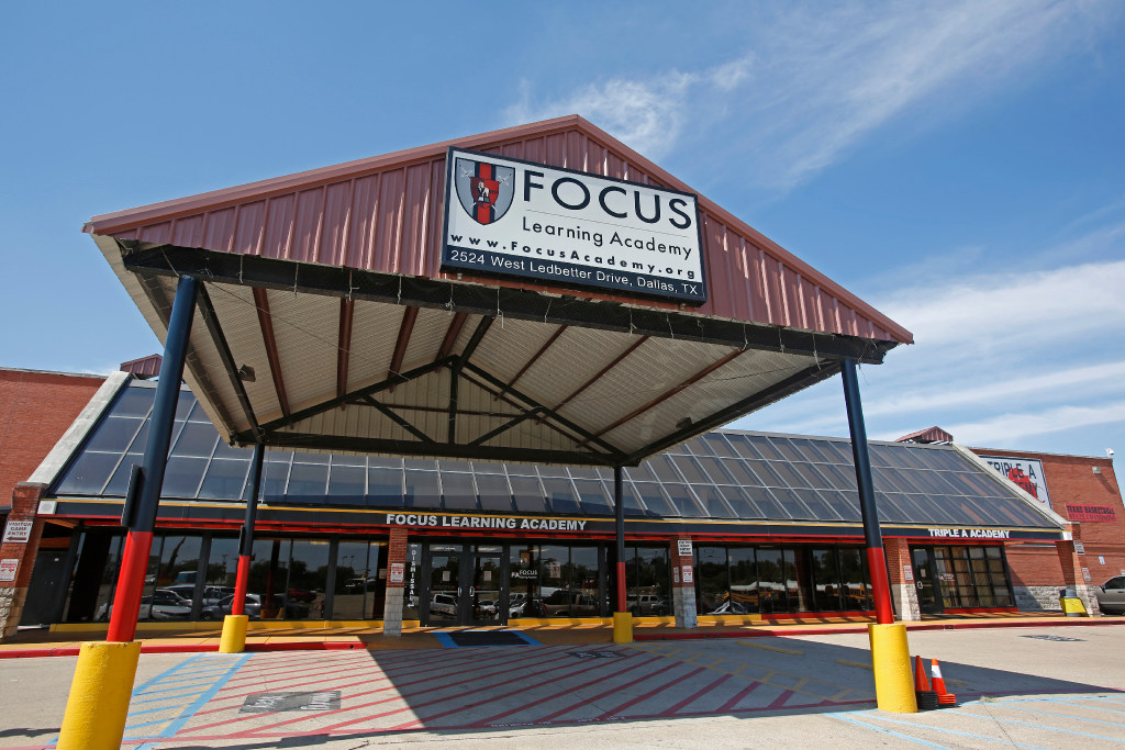 Focus Learning Academy located on Ledbetter Road in Dallas