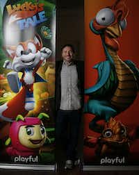 Playful's game, Lucky's Tale, is bundled with every Oculus Rift. Paul Bettner started Playful after trying on an early version of the virtual reality headset.(Jae S. Lee/Staff Photographer)
