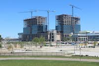 About 5,000 people will work in Liberty Mutual Insurance's new Plano tower complex.(KDC)