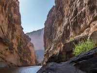 The mouth of Santa Elena Canyon, Big Bend National Park, Texas. (Dan Leeth/Special Contributor)