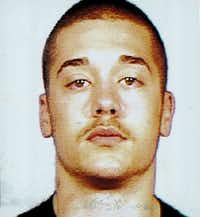 Aaron Dyson's mugshot from his 1997 arrest for shooting Joe Cruz in Fort Worth