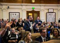 <p>Rep. Joe Moody during the first day of the 85th Texas Legislative Session.  (Ashley Landis/The Dallas Morning News)</p>(<p><br><br></p>)