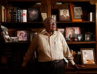 Dr. Claude Williams poses for a photograph at his home in Dallas, Wednesday, April 5, 2017. (Jae S. Lee/The Dallas Morning News)(Staff Photographer)