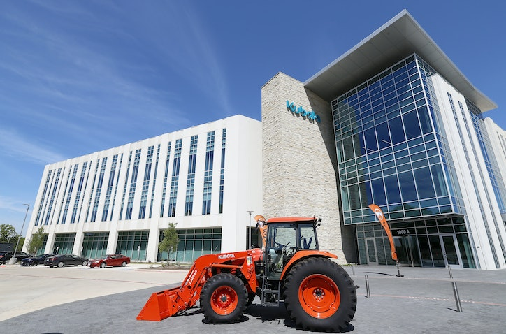 Kubota Tractor Cuts The Ribbon On 50 Million Grapevine Headquarters Campus Real Estate