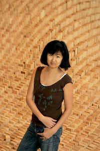 Maya Lin, the designer of the Vietnam Veterans Memorial, is having her work shown at Dallas' Talley Dunn Gallery. (Los Angeles Times photo by Glenn Koenig.)