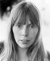 Joni Mitchell, in 1972. (AP Photo, File)(AP)