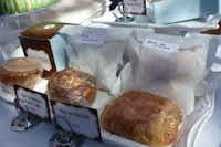 Bisous Bisous luscious handheld breakfast patisseries at Highland Park Village Local Artisan Market.(Kim Pierce)