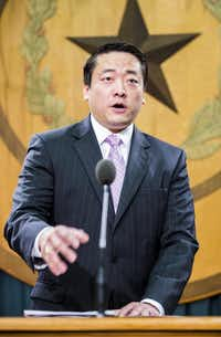 Rep. Gene Wu, D-Houston (File Photo/The Dallas Morning News)