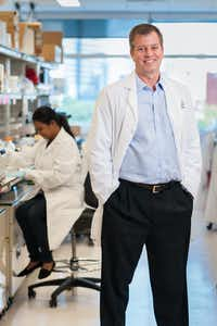 <p>Jim Ray is head of neuroscience at M.D. Anderson's Institute for Applied Cancer Science.&nbsp;</p>(Adolfo Chavez III/M.D. Anderson)