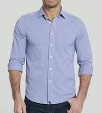 The Ducale style Untuckit button down shirt for $98.
