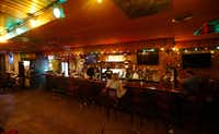 The Elbow Room after closing for the last time early Sunday. (Nathan Hunsinger/Staff Photographer)