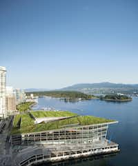 A picturesque setting isn't the only selling point on visiting Vancouver. (Vancouver Convention Centre)