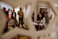 Dr. Sabiha Al Khemir is the Dallas Museum of Art senior adviser for Islamic Art. (Vernon Bryant/The Dallas Morning News)