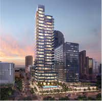 The Hall Arts Residences and Hotel will open in 2019.(Hall Group)