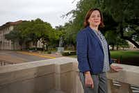 Dr. Noel Busch-Armendariz, director of UT's Institute on Domestic Violence & Sexual Assault, led the research on a systemwide survey of 28,000 students' experiences with stalking, harassment and sexual violence. (Jae S. Lee/The Dallas Morning News)
