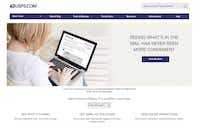 The Informed Delivery login page