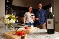 Michael and Rachel Kennedy, who live in Uptown, launched Component Wine Co. in 2016. (Rose Baca/The Dallas Morning News)(Staff Photographer)