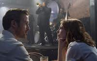 Ryan Gosling portrays a musician and and Emma Stone plays an actress in<i> La La Land</i>. (Lionsgate )