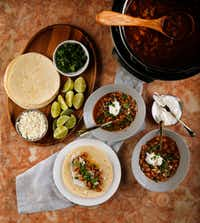 Instant Pot Cowboy Bean Soup (Tom Fox/Staff Photographer)