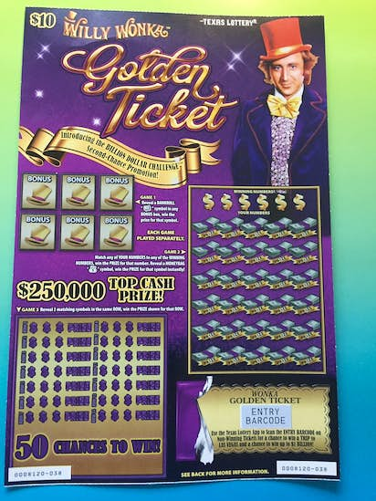 Here's why the Texas Lottery's Willy Wonka game and its promised $1