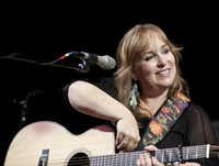 "Singer-songwriter Gretchen Peters, whose songs ""Revival"" and ""On a Bus to St. Cloud"" were covered by Jimmy LaFave. (Ira Hantz/Uncle Calvin's Coffeehouse)"