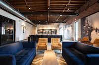 Tasting room and lounge at Rancho Loma Vineyards in Coleman, Texas(Rancho Loma Vineyards)