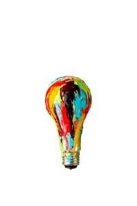 Photo illustration of a painted light bulb.((Michael Hogue/Staff Artist; Smiley N. Poll/Staff Photographer))