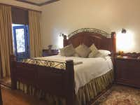 A room at the bed and breakfast at Kiepersol Estate Vineyard and Winery, Tyler (Tina Danze)