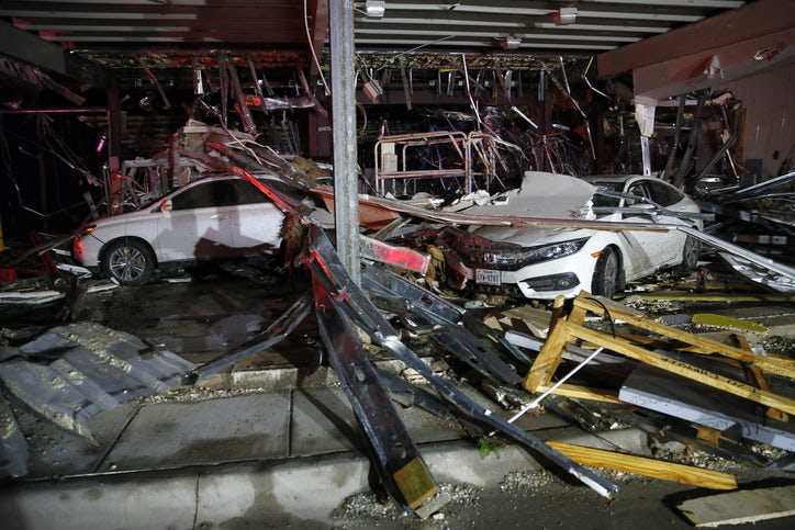 Dodge Dealership Dallas Tx >> Tornadoes rip through Canton, Van Zandt County, killing at least four and injuring dozens ...
