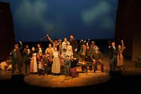 The stage play Quanah starring Grammy Award-winner Larry Gatlin opened at the Irving Arts Center. (Lawrence Jenkins/Special Contributor)