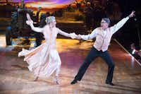 Former Gov. Rick Perry, shown on ABC's <i>Dancing with the Stars, </i>also didn't escape Maher's barbs.&nbsp;((ABC))
