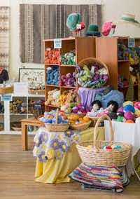 The Espanola Valley Fiber Arts Center in Espanola, N.M., caters to all kinds of fiber fans. EVFAC is sponsoring the first New Mexico Fiber Crawl in May. (EVFAC)