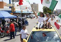 The Cinco de Mayo festival and parade on West Jefferson Boulevard in Dallas is a favorite local event.(2015 File Photo/Staff)