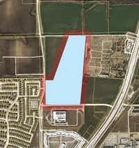 The 66-acre data center campus would be just west of U.S. 75 in Allen.(City of Allen)