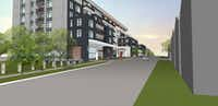 The Drake at White Rock Lake condo building is planned near Tenison Park Golf Course.(GDA Architects)