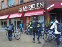 Le Meridien Chambers Minneapolis, which offers guests the use of bicycles for various weather conditions, now offers city bicycling tours.(Robin Soslow)