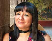 """Sandra Cisneros(<p><span style=""""font-size: 1em; background-color: transparent;"""">(Alan Goldfarb)</span><br></p><p></p>)"""
