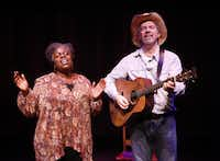 'Texas in Paris,' starring Lillias White and Scott Wakefield, will be presented at the Eisemann Center in Richardson Nov. 16-19, 2017(Carol Rosegg)