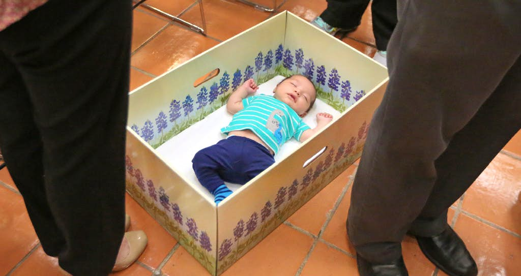 what texas families should know about free baby boxes health care