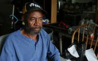 "Disabled Navy veteran James Jones, 66, lives two doors down from where the kids were partying. ""These police are getting away with too many murders,"" he says. (LM Otero/The Associated Press)"
