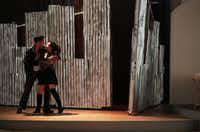 Ivan Jasso and Maya Malan-Gonzalez in <i>De Troya</i>(Lawrence Jenkins/Special Contributor)