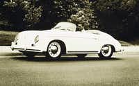 Stan Richards used to cruise around town in his 1956 Porsche that he splurged on the day he landed his first agency job. He'd later sell it to make a down payment on his first home.(The Richards Group)
