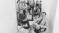 Stan Richards and his motley crew at the Richards Group in the early 1980s.(The Richards Group)
