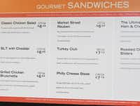 Calorie labels on prepared food at Market Street store in Frisco, Texas on May 4, 2017. (Robert W. Hart/Special Contributor)(Robert W. Hart/Special Contributor)