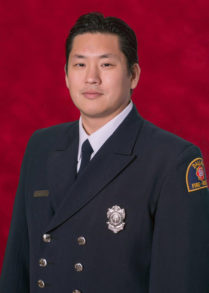 William An joined Dallas Fire-Rescue in 2006.(Dallas Fire-Rescue)